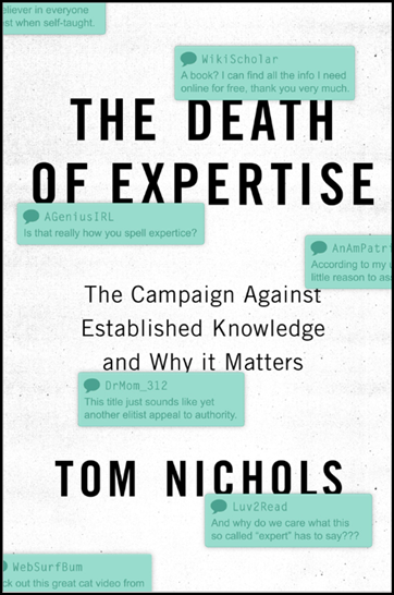 The Death of Expertise - resize for quote