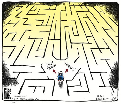 Cartoon -- shutdown - normal